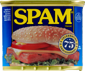 Classic SPAM 300x251 - Spammers welkom! Spam je blog