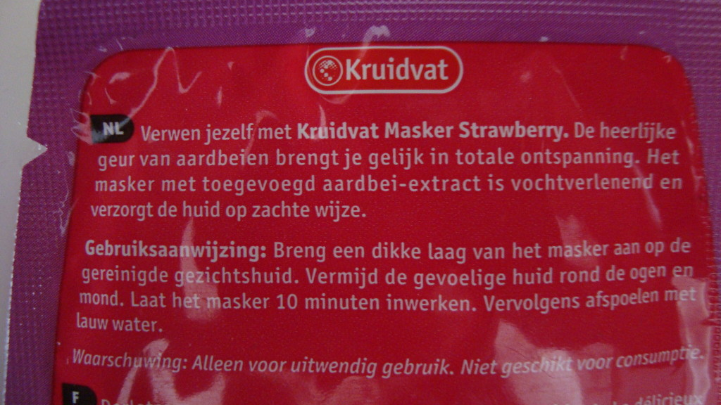 DSC06661 1024x576 - Kruidvat Strawberry Masker Review
