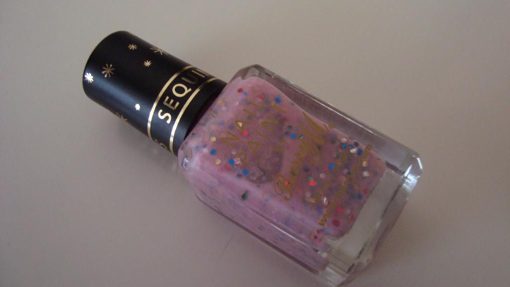 DSC07369 1024x576 - Barry M Sequin Nail Effects Pink 315 Glitternagellak