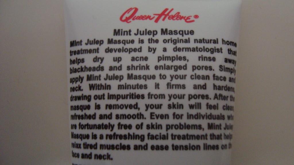 DSC08089 1024x576 - Queen Helene Mint Julep Masque Review