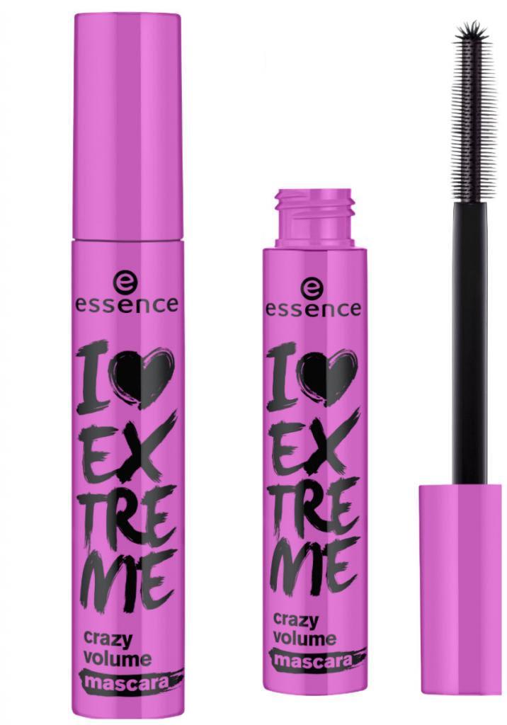 essence i love extreme crazy volume mascara - Essence I Love Extreme Mascara Review