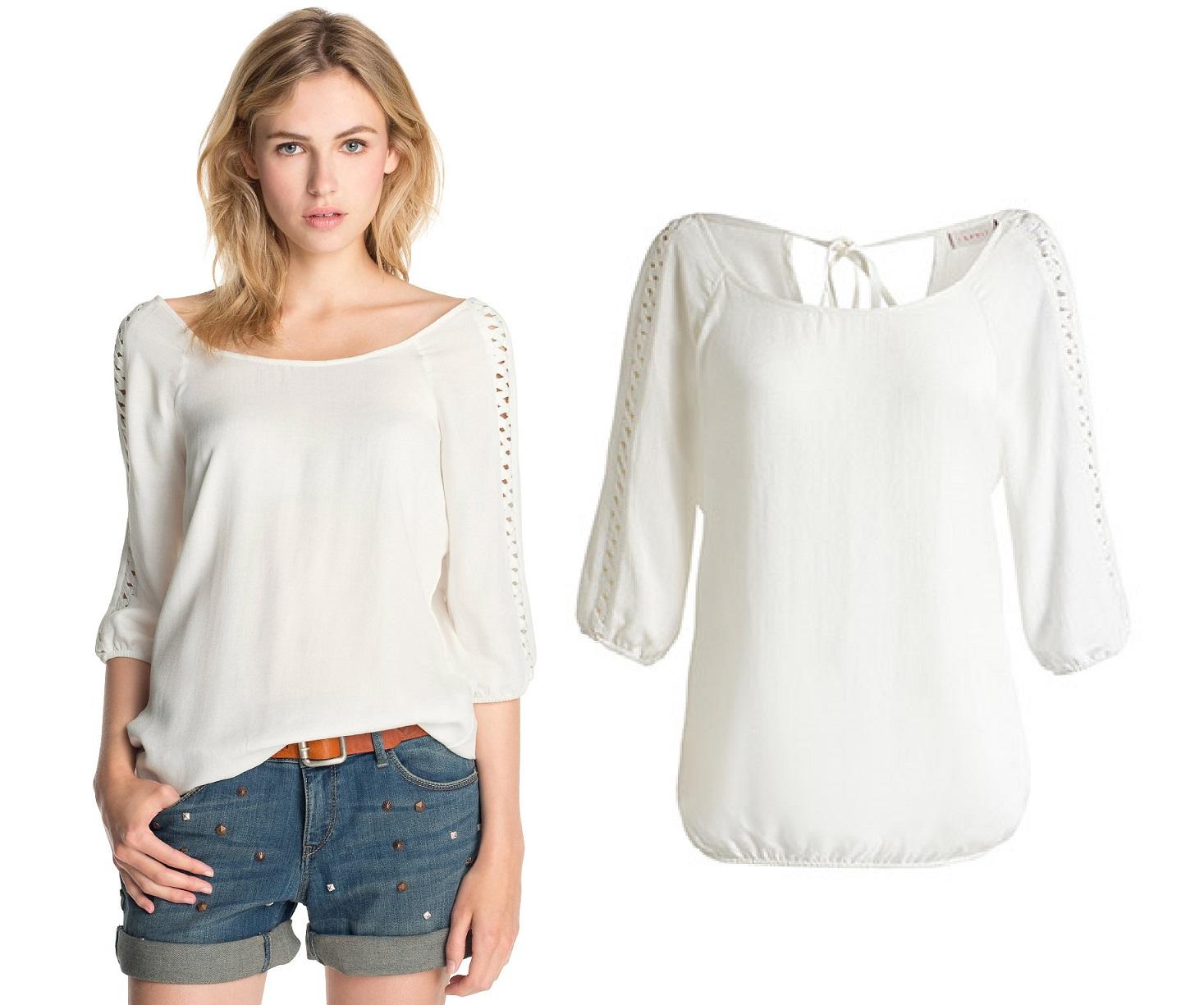 witte blouse viscose