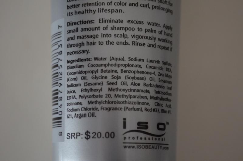 DSC 0393 800x530 - ISO IONIX Shampoo Review