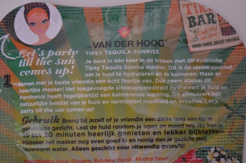 DSC 0296 800x530 - Dr. Van Der Hoog Tipsy Tequila Sunsrise Masker Review