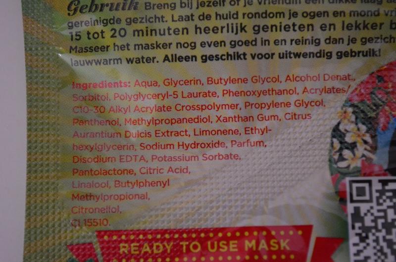 DSC 0297 800x530 - Dr. Van Der Hoog Tipsy Tequila Sunsrise Masker Review