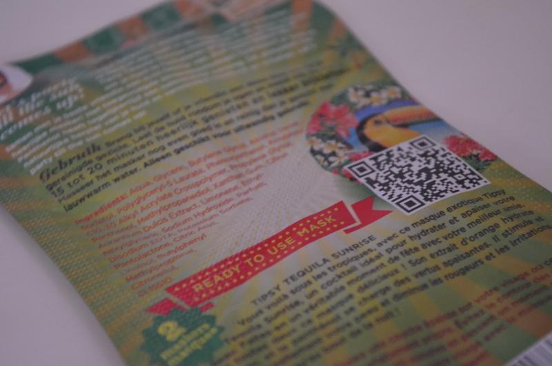 DSC 0298 800x5301 - Dr. Van Der Hoog Tipsy Tequila Sunsrise Masker Review