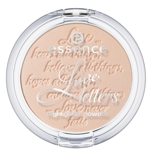 Essence Love Letters TE Highlighter Powder - Nieuw! Catrice Celtica & Essence Love Letters