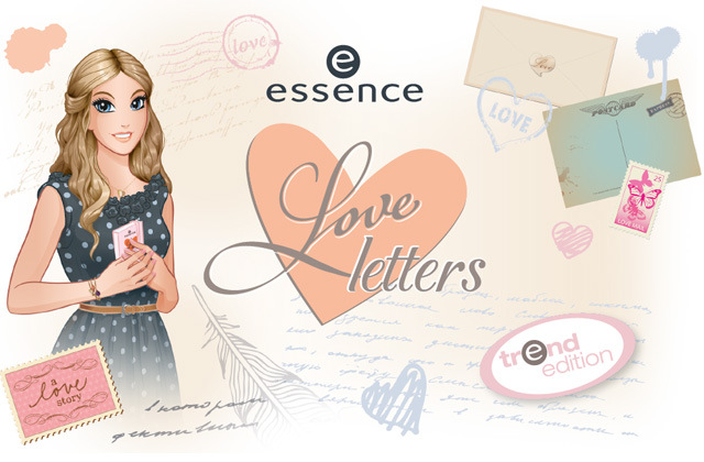 Essence Spring 2014 Love Letters Collection - Nieuw! Catrice Celtica & Essence Love Letters