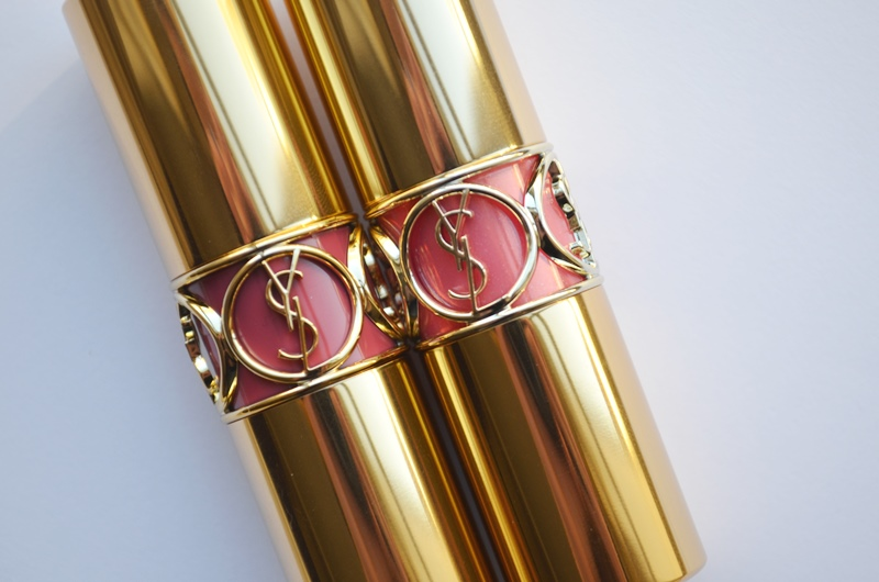 DSC 0221 - New in! YSL Rouge Volupté (Shine) Rose Caresse & Pink in Paris