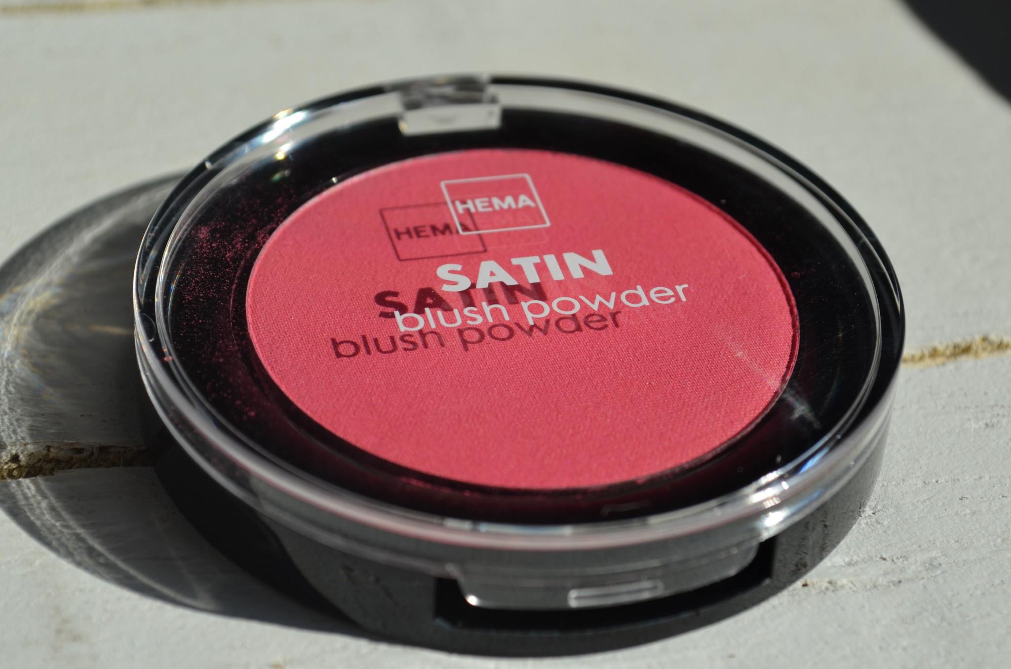 DSC 02221 - Nieuw van Hema! Satin Blush Powder(s) Review