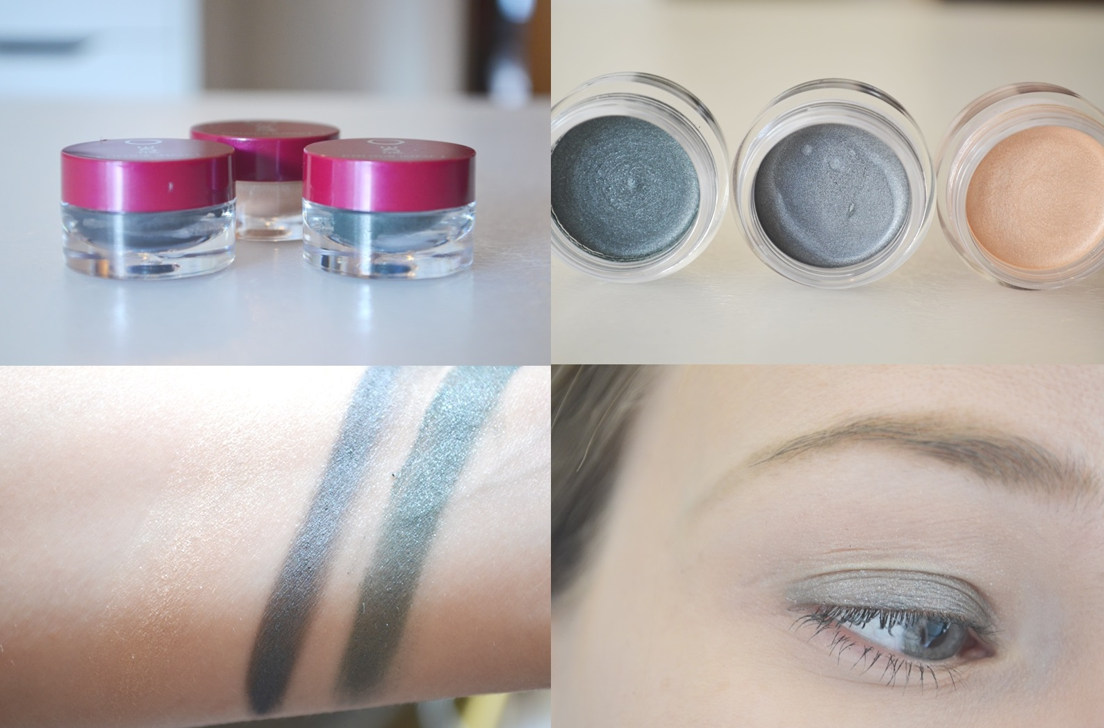 Compilatie Cream Eye Shadow - Oriflame: The One Make-up (Mega) Review