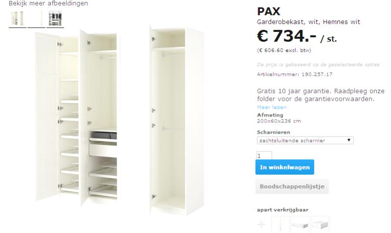 Ikea Küchen Inneneinrichtung ~ Kasten uit elkaar en klaar om vervangen te worden!