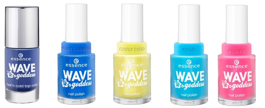Compilatie 3 - Nieuwe Essence Trend Edition Wave Goddess
