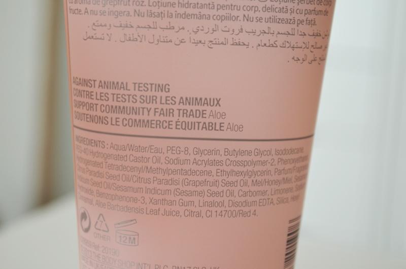 DSC 02151 - The Body Shop Pink Grapefruit Body Sorbet Review