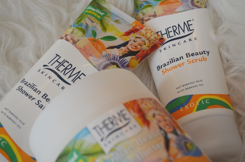 Nieuwe therme brazilian beauty scrub shower amp butter