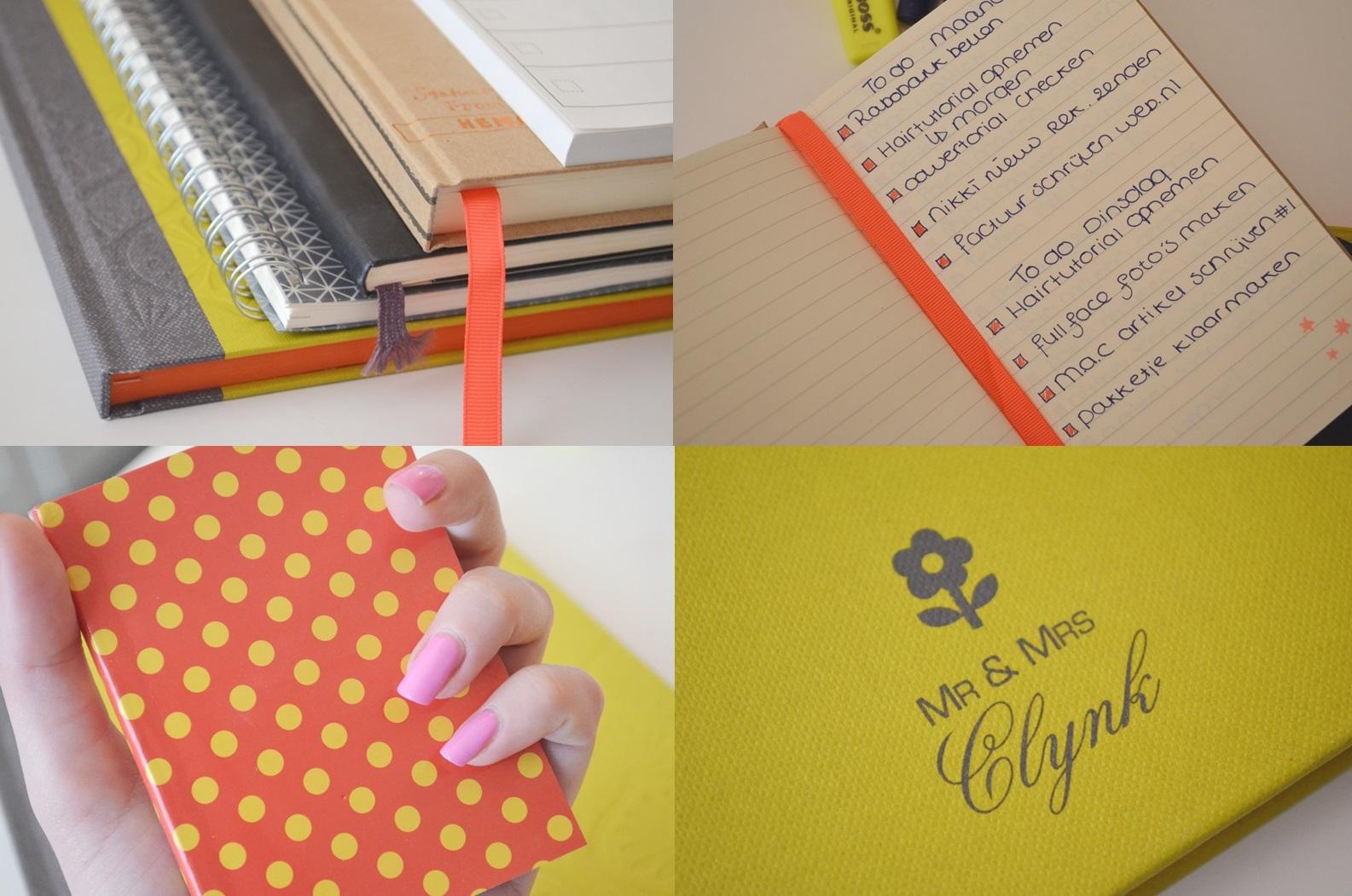 Samen3 - Mijn Opschrijfboekjes - Creëer orde in de chaos!