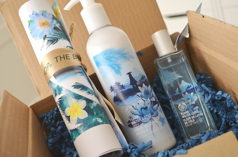 DSC 0195 - Nieuwe Fijian Water Lotus Producten van The Body Shop