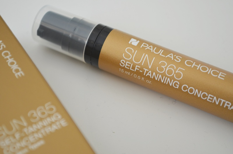DSC 02031 - Paula's Choice Sun 365 Self-Tanning Concentrate Review