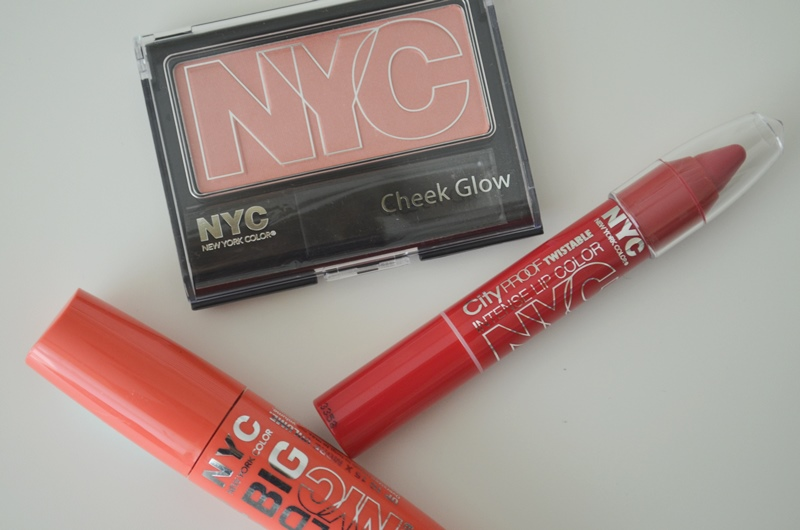 DSC 02302 - In De Mix: NYC Mascara, Blush & Lip Color Review