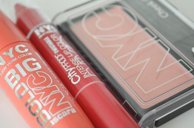 DSC 0233 - In De Mix: NYC Mascara, Blush & Lip Color Review