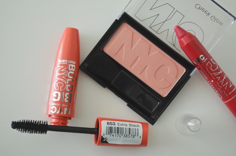 DSC 0238 - In De Mix: NYC Mascara, Blush & Lip Color Review
