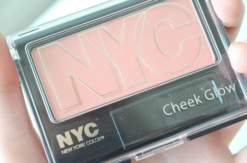 DSC 0250 - In De Mix: NYC Mascara, Blush & Lip Color Review