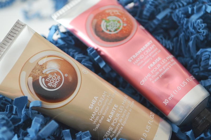 DSC 01962 - The Body Shop Hand Cream Shea & Strawberry Review
