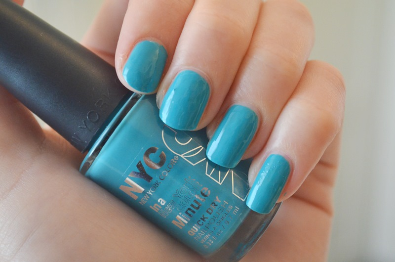 DSC 02301 - Nieuwe NYC - In a New York Minute - Nail Polish Review