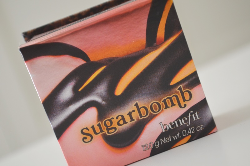 DSC 0292 - New in! Benefit Sugarbomb Blush/Highlighter - Review