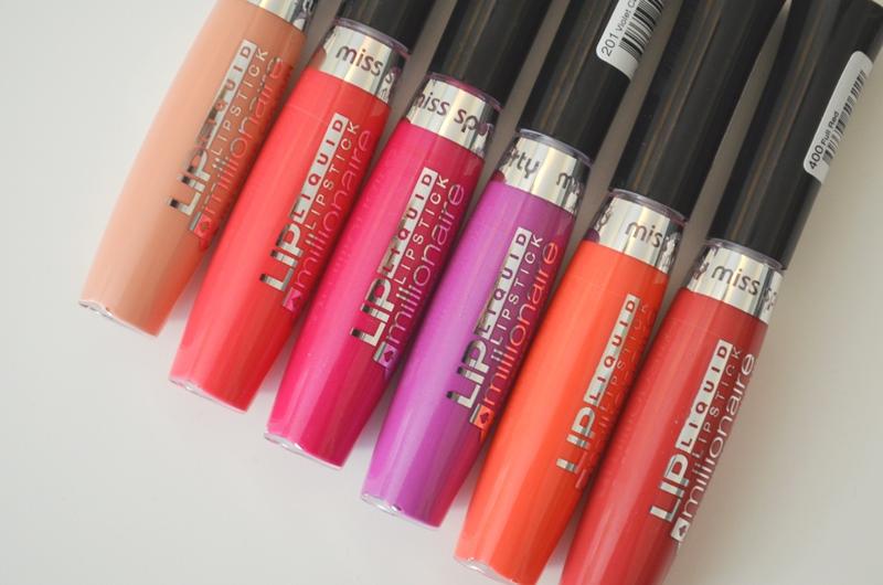 DSC 03191 - Miss Sporty Lip Millionaire Liquid Lipstick Review
