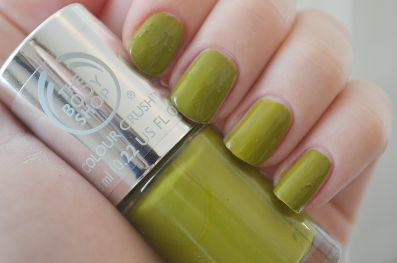 DSC 02032 - The Body Shop Nail Happiness! Swatches + Review