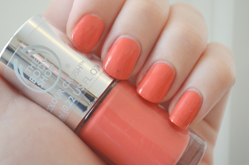 DSC 02152 - The Body Shop Nail Happiness! Swatches + Review