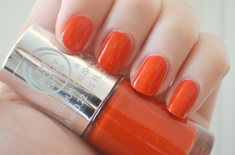 DSC 02271 - The Body Shop Nail Happiness! Swatches + Review