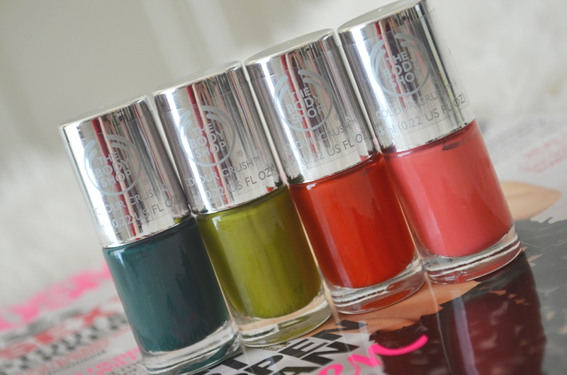 DSC 0369 - The Body Shop Nail Happiness! Swatches + Review