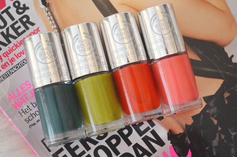 DSC 0388 - The Body Shop Nail Happiness! Swatches + Review