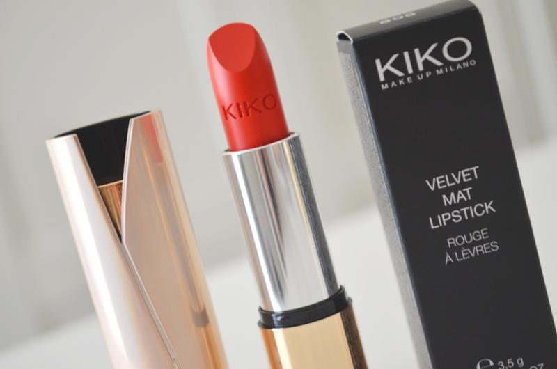 DSC 05051 - KIKO Velvet Mat Lipstick Review