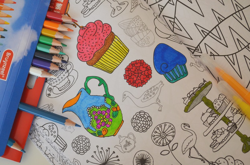 Kleurplaten Voor Volwassenen Op Reis.Het Enige Echte Kleurboek Voor Volwassenen Elise Joanne