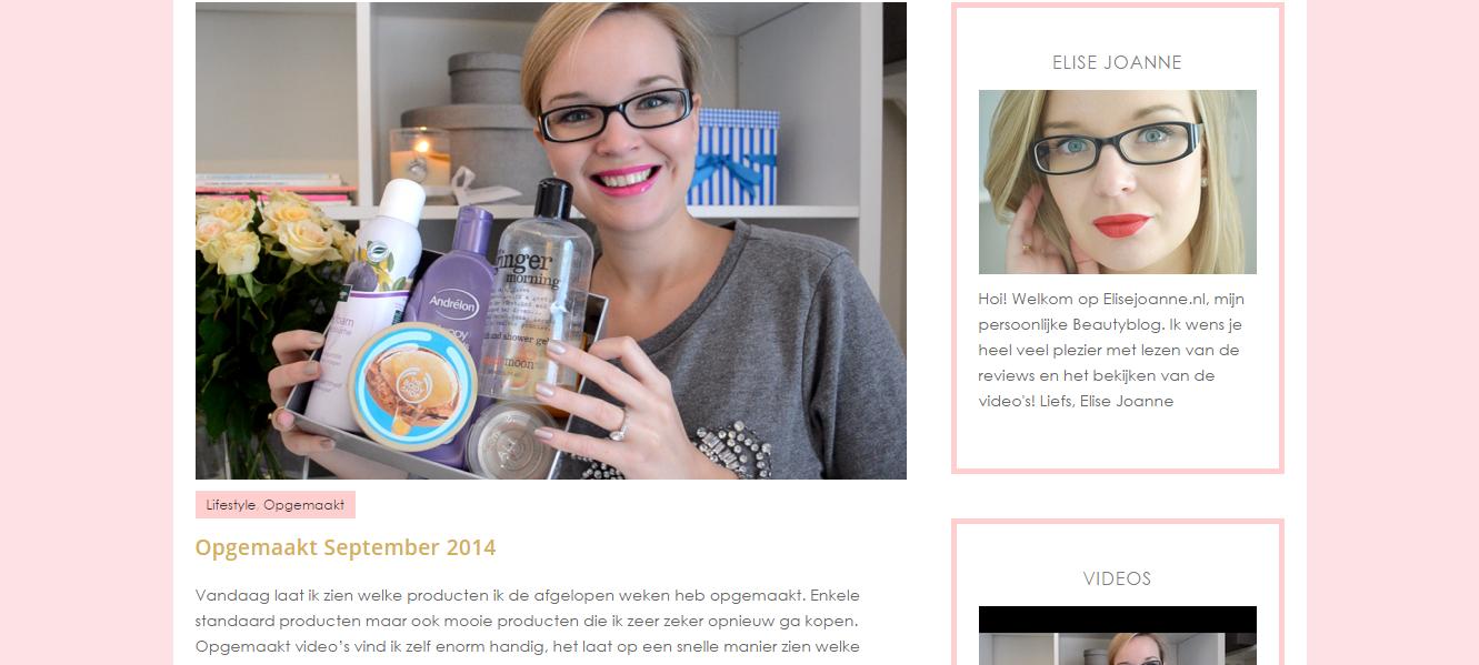 Elise Elisejoanne.nl