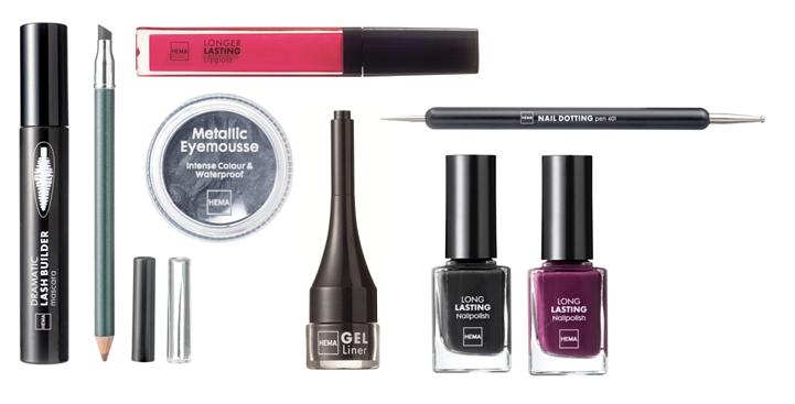Look 1 - Nieuwe HEMA Herfst & Winter Make-up Review