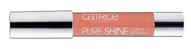 Catr PureShine LipBalm100 SheerYourMind - Nieuwe Collectie Essence & Catrice Voorjaar 2015