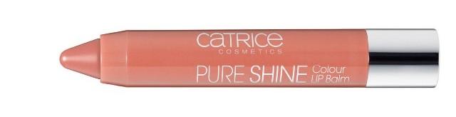 Catr PureShine LipBalm100 open SheerYourMind - Nieuwe Collectie Essence & Catrice Voorjaar 2015