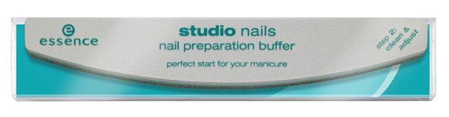 ess StudioNails NailPreparationBuffer Pouch - Nieuwe Collectie Essence & Catrice Voorjaar 2015