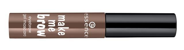 ess make me brow eyebrow gel mascara dunkel - Nieuwe Collectie Essence & Catrice Voorjaar 2015