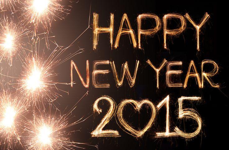 Happy New Year - Een heel fijn 2015 gewenst!
