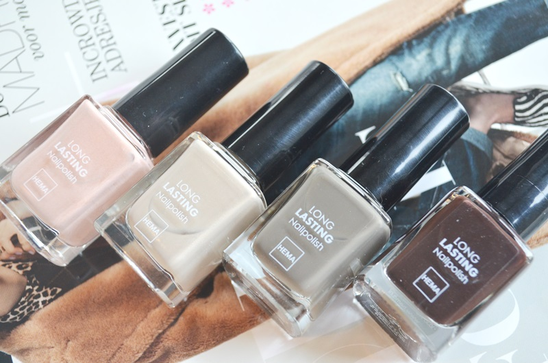DSC 3776 - HEMA Long Lasting Nail Polish 4 x Swatches