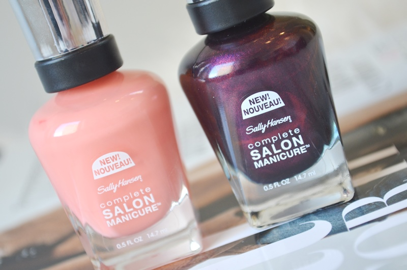 Nieuwe Sally Hansen Salon Manicure Swatches & Review