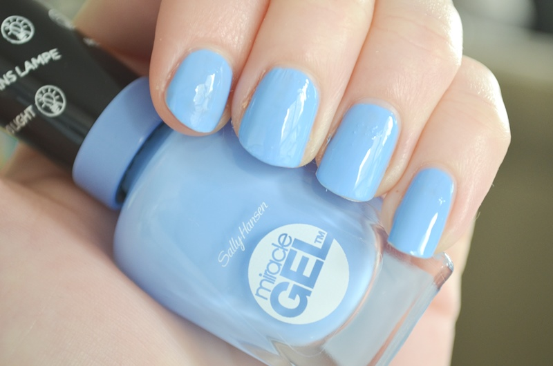 Nieuwe Sally Hansen Miracle GEL Swatches & Review