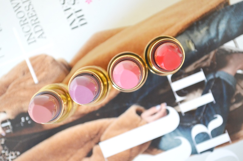Oriflame Giordani Gold Jewel Lipsticks Review