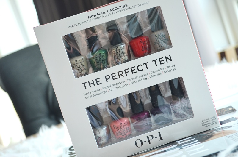 DSC 0909 - O.P.I The Perfect Ten - Coca Cola Mini Pack - Review