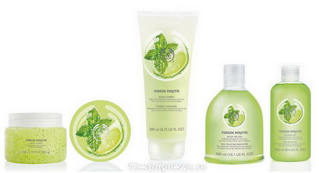 The Body Shop Virgin Mojito Collectie - The Body Shop Virgin Mojito Collectie Review
